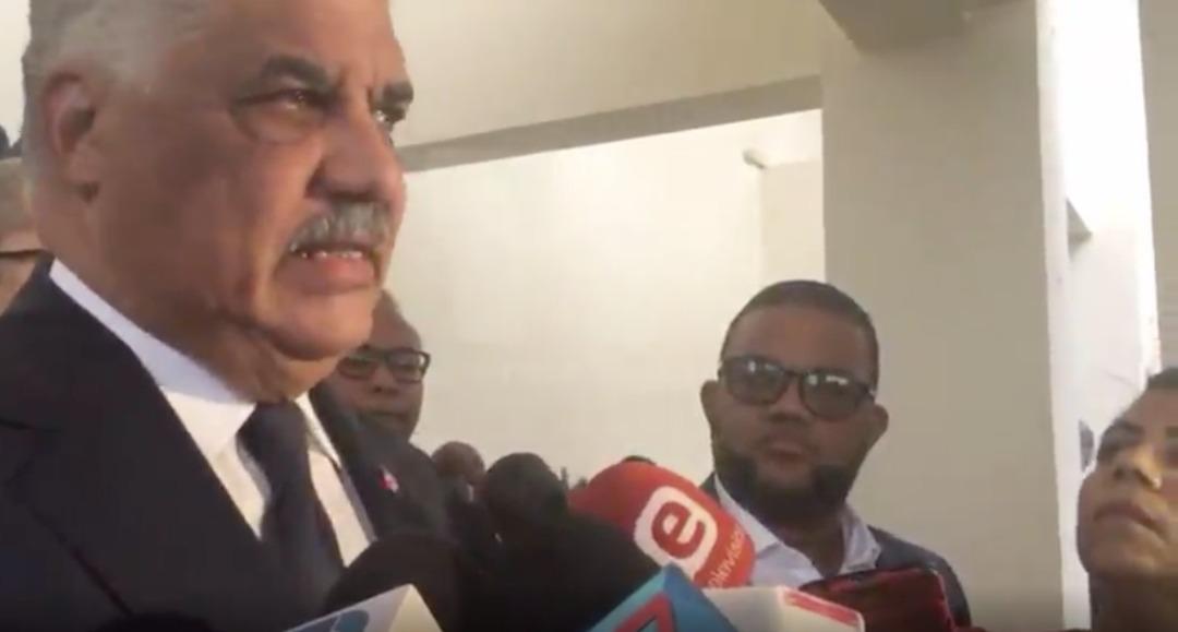 Miguel Vargas Maldonado, ministre dominicain des Affaires étrangères/ Capture d'écran
