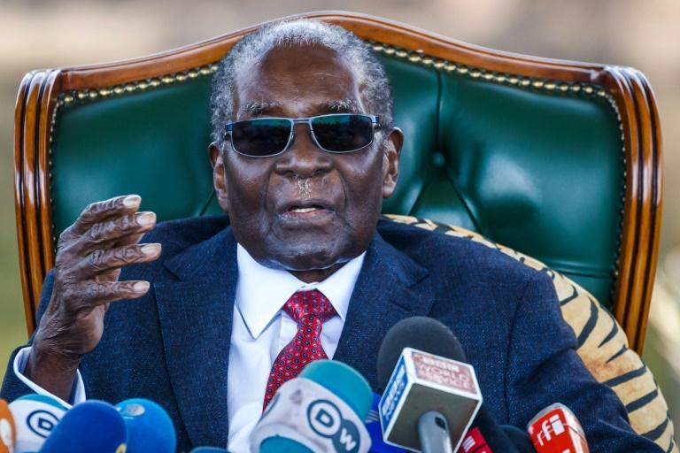 Robert Mugabe. Photo : AFP