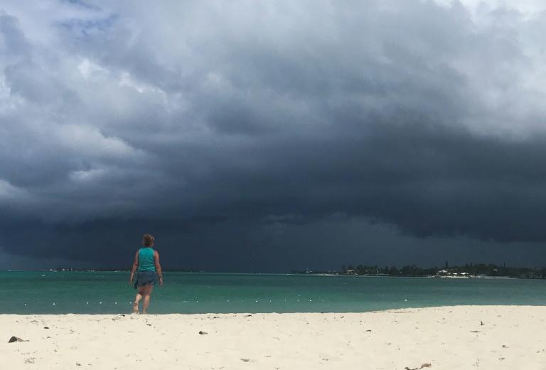 Nuages d'orage à Nassau, aux Bahamas, le 12 septembre 2019