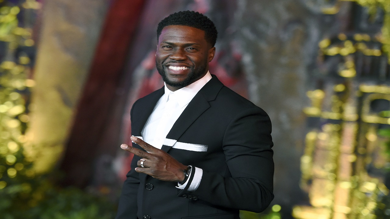 "In this December 11, 2017 file photo, Kevin Hart arrives at the Los Angeles premiere of ""Jumanji: Welcome to the Jungle"" in Los Angeles. (PHOTO: AP)"