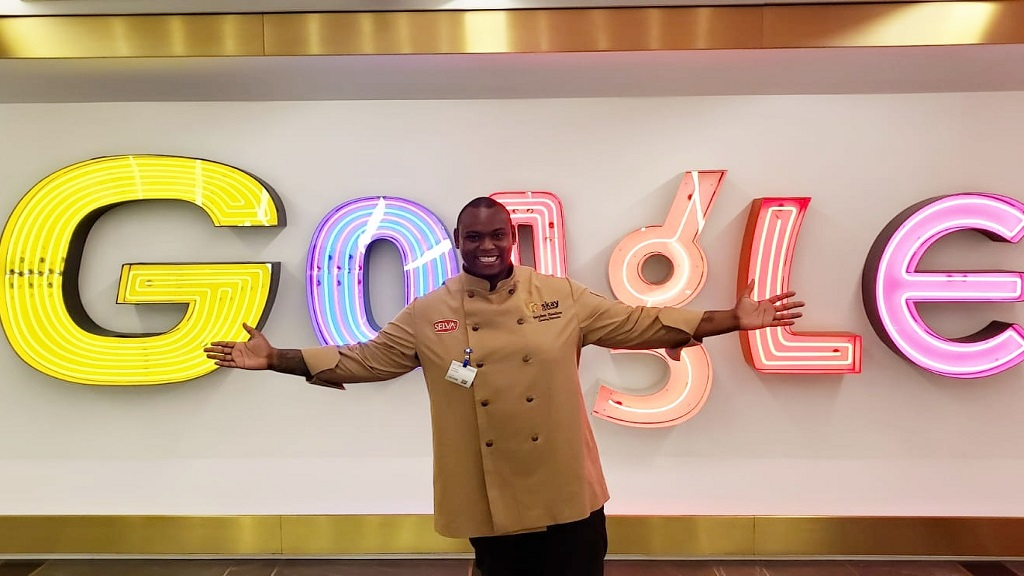 Jamaican chef Stephen Hamilton represented the island as a culinary authority at Google NYC over the nation's Independence celebrations earlier this month.