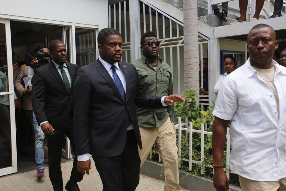 Le Premier ministre nommé arrivant au Parlement pour le dépôt de ses pièces en juillet dernier/ Photo: Chambre des députés