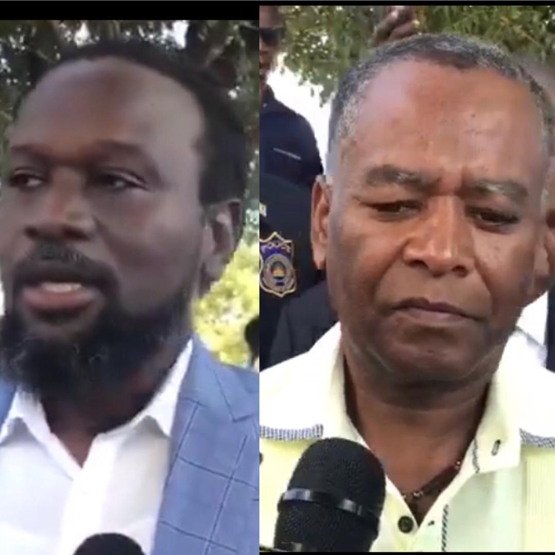 Les sénateurs de l'opposition Antonio Chéramy et Ricard Pierre/ Capture d'écran