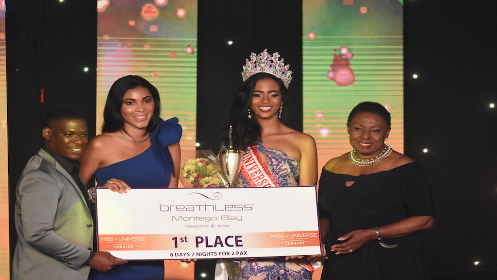 She's royal: Iana Tickle Garcia cops Miss Universe Jamaica