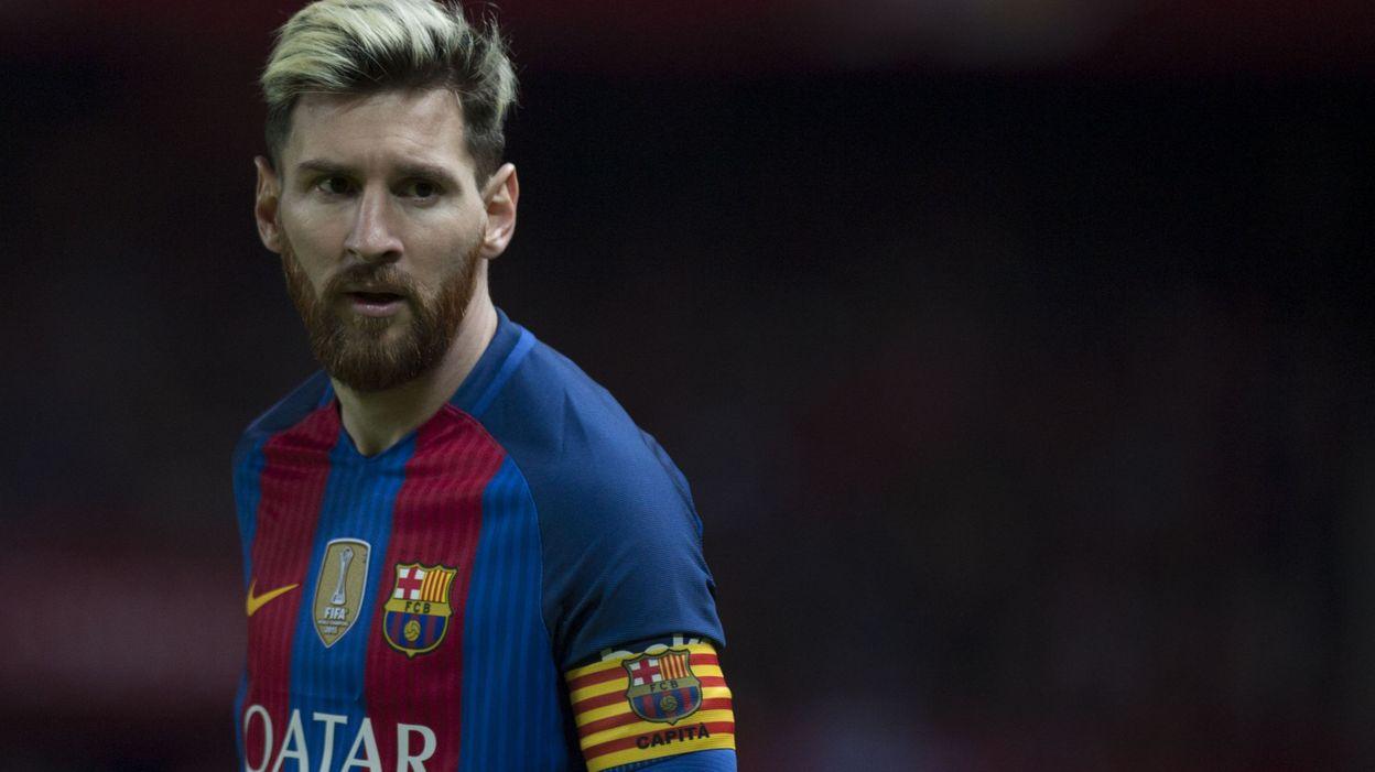 """Le Barça se dit """"tranquille"""" pour l'avenir de Messi au club - © JORGE GUERRERO - AFP"""