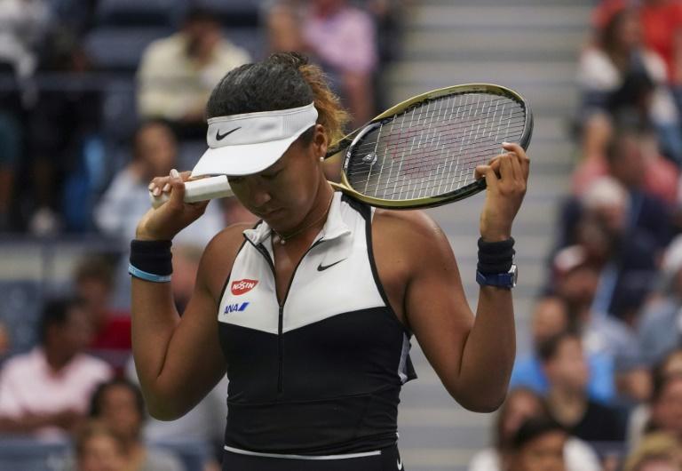 La Japonaise Naomi Osaka à l'US Open de tennis, le 2 septembre 2019