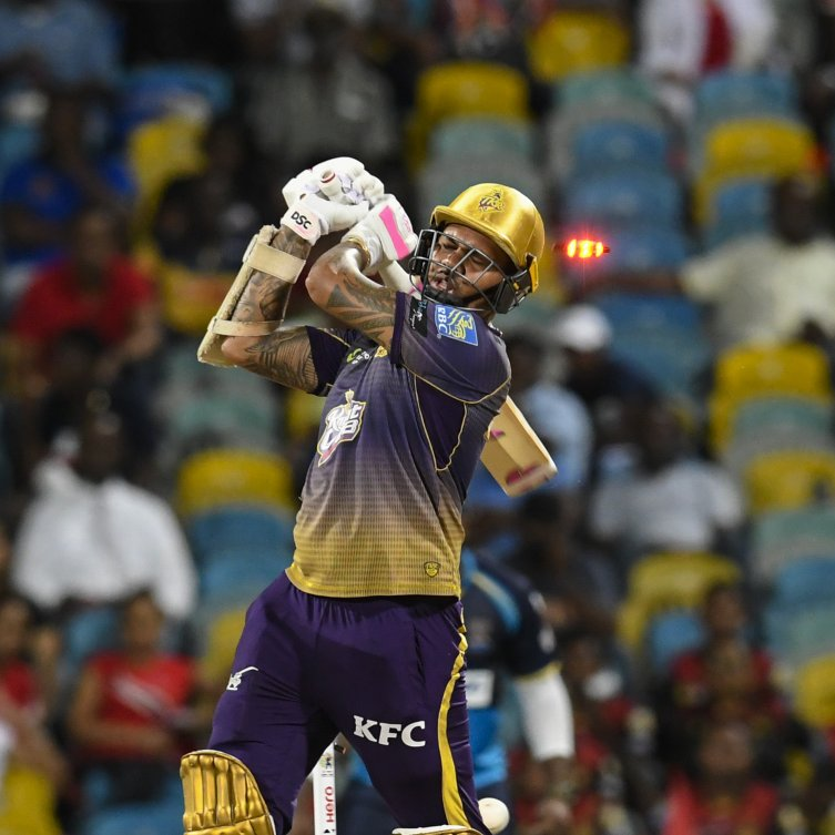 Sunil Narine returned to action against the Barbados Tridents on Thursday night, but could not prevent the defending champions from falling to defeat
