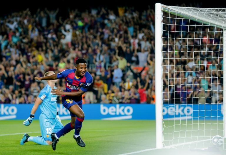 Foot: la pépite de Barcelone Ansu Fati obtient la nationalité espagnole