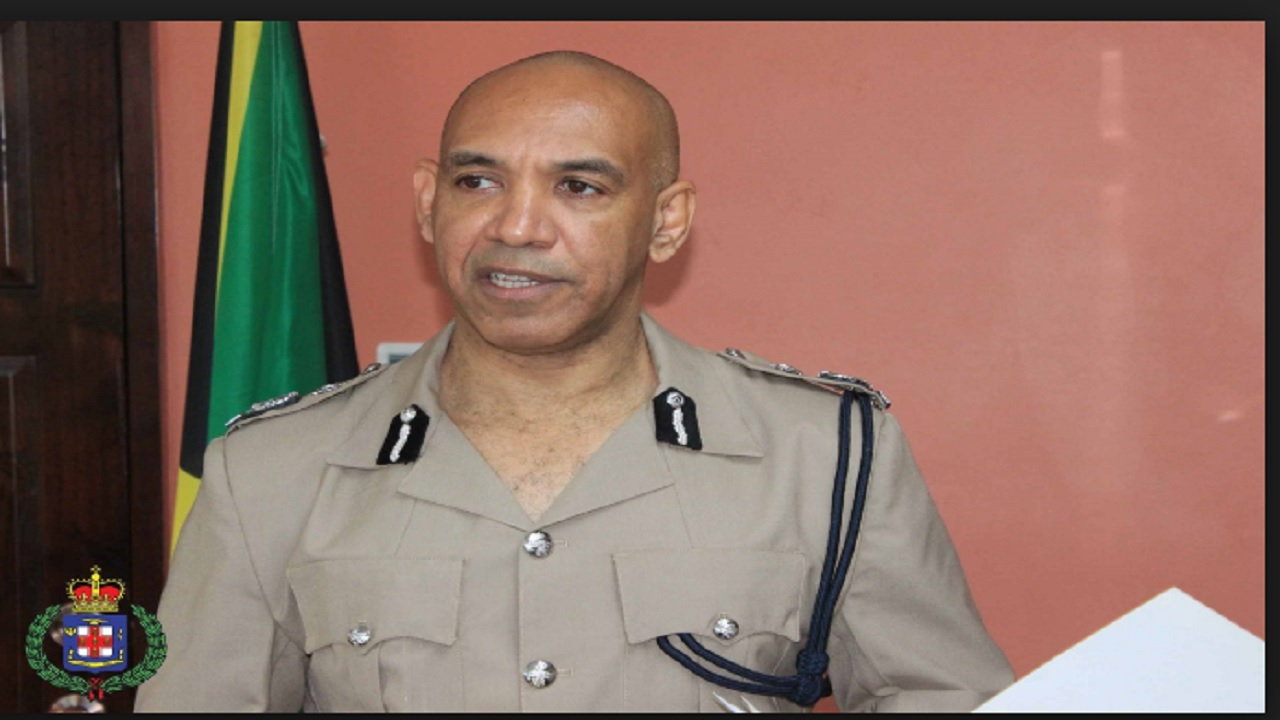Police Commissioner, Major General Antony Anderson.