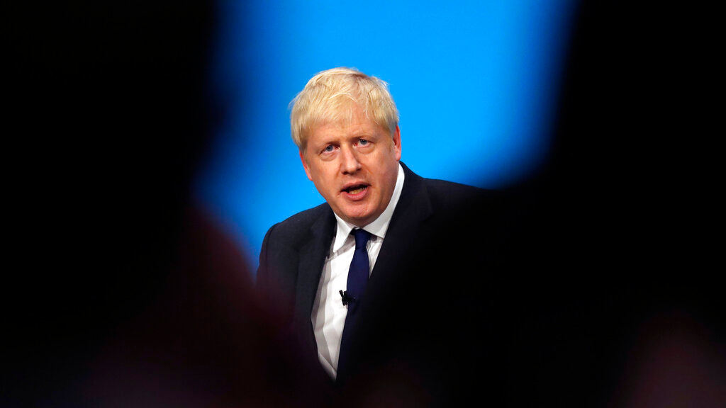 British PM Boris Johnson (AP Photo)