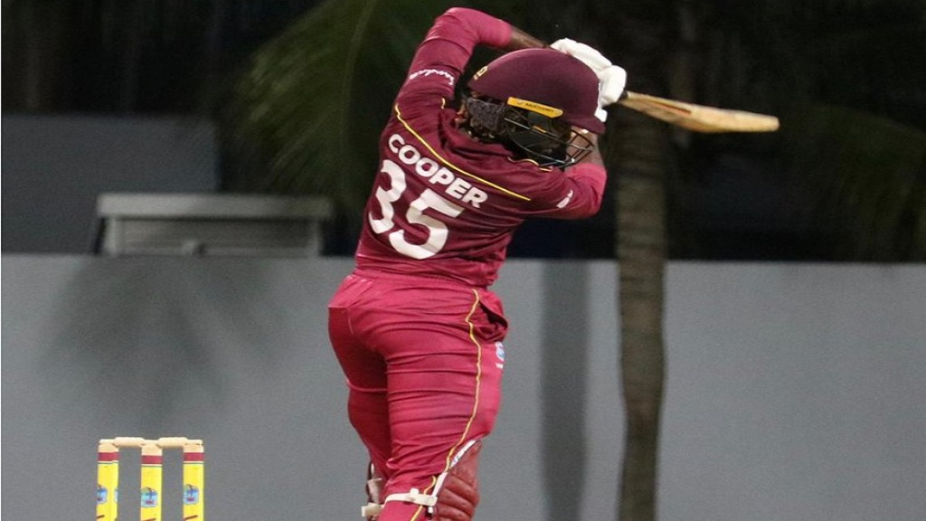 Britney Cooper once again top scored for the West Indies Women with 29.