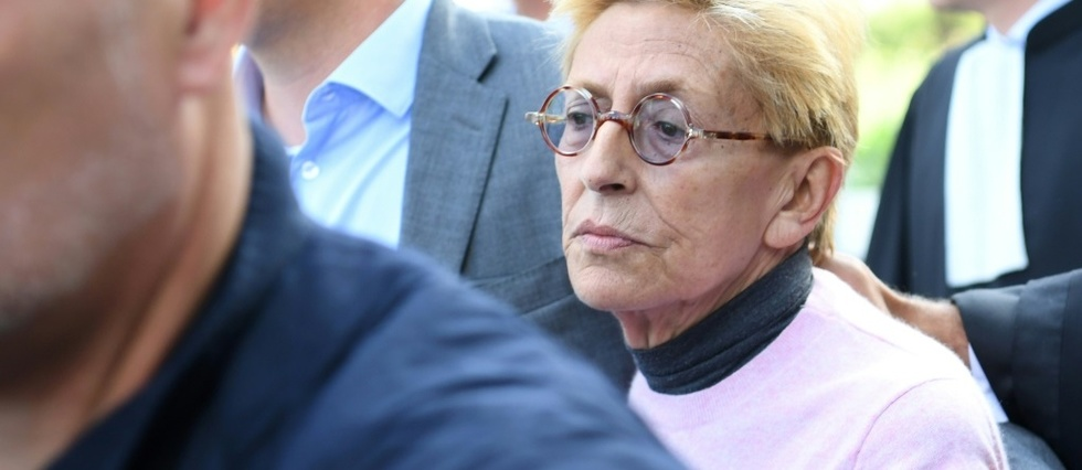 """Isabelle Balkany """"ne comprend pas"""" que son mari aille en prison © AFP / CHRISTOPHE ARCHAMBAULT"""
