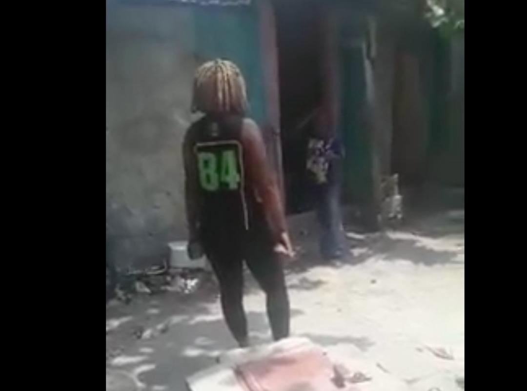 Capture d'écran à partir de la vidéo circulant sur les réseaux sociaux