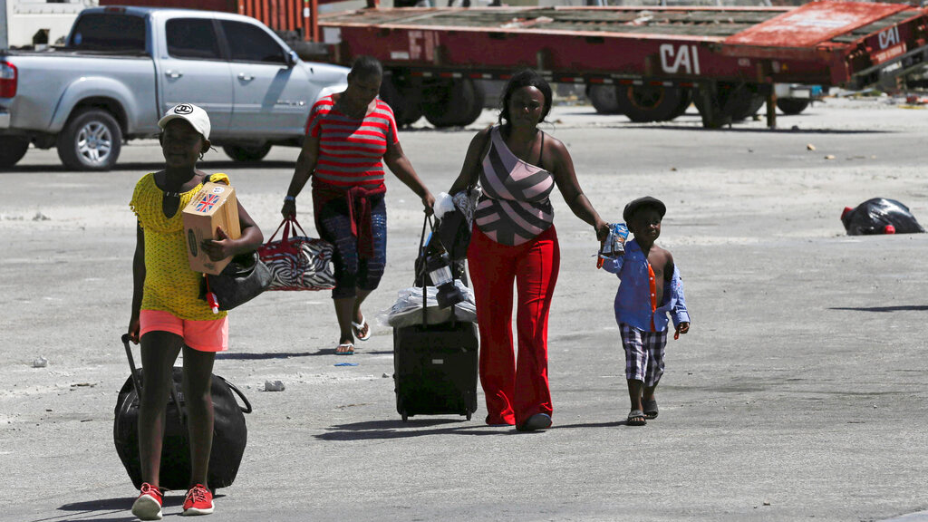 Dozens of Bahamas evacuees told to get off ferry headed to US