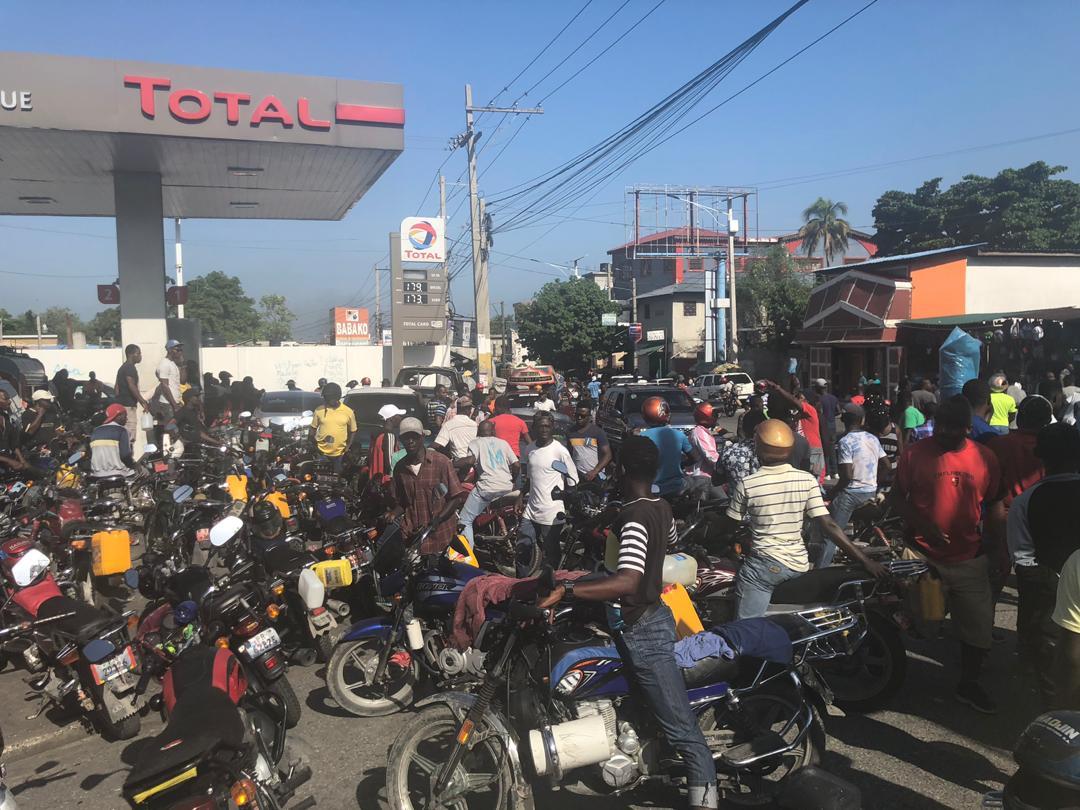 Cette photo prise à Port-au-Prince sert uniquement à cet article