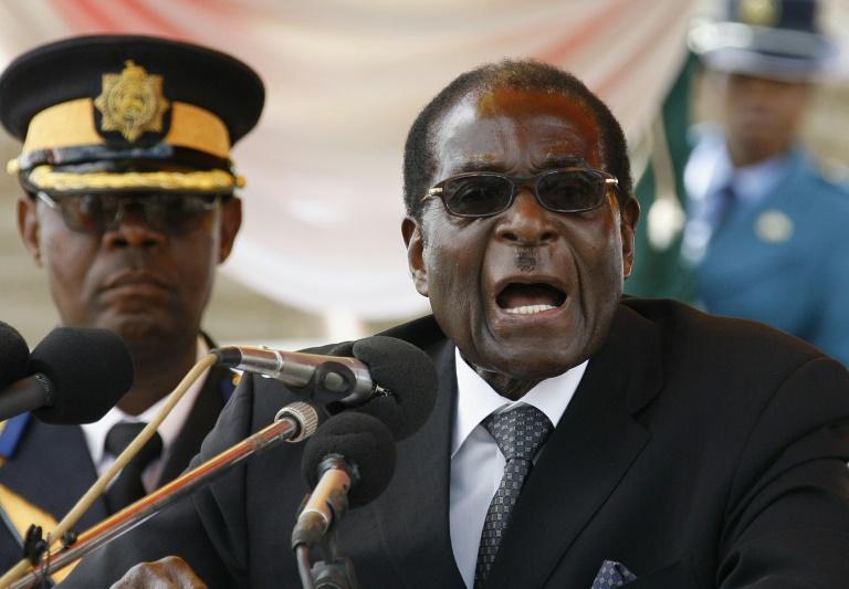 Le président zimbabwéen Robert Mugabe à Harare, le 18 janvier 2010 afp.com - DESMOND KWANDE
