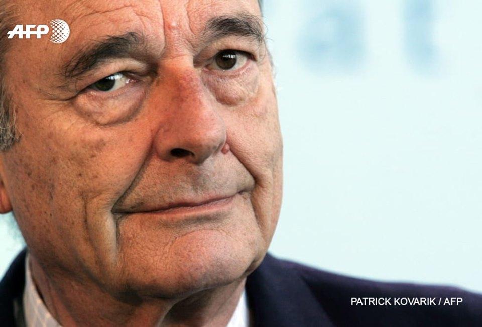 Jacques Chirac, ex-président de la République française, décédé 26 septembre 2019. Crédit Photo: AFP/Facebook