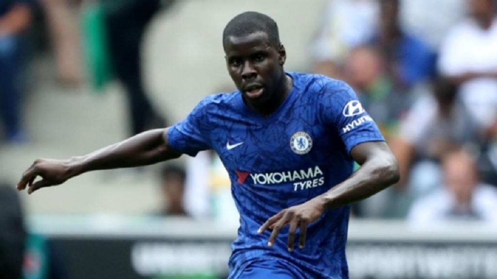 Chelsea defender Kurt Zouma.