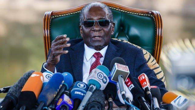 L'EX-PRÉSIDENT DU ZIMBABWE ROBERT MUGABE EST MORT/ AFP