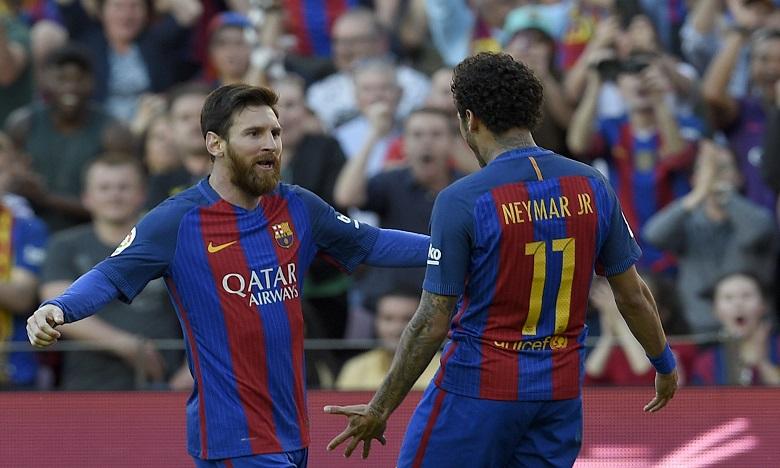 Dix jours après la clôture du marché estival des transferts, Messi a pris la défense de son ami et ancien partenaire à Barcelone. Ph. AFP