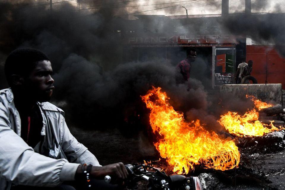 Pénurie d'essence en Haïti: heurts entre manifestants et policiers