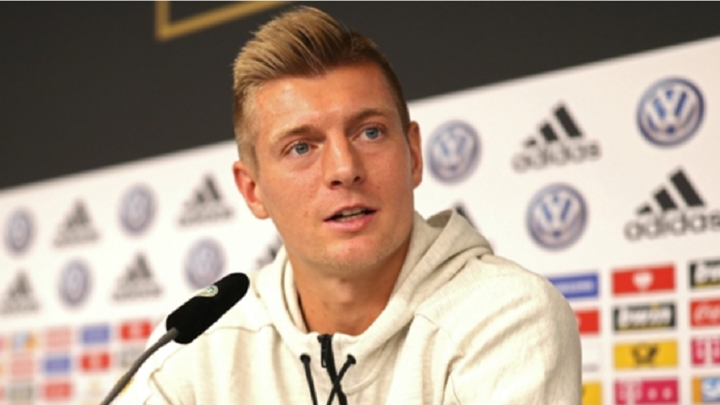 Real Madrid and Germany midfielder Toni Kroos.