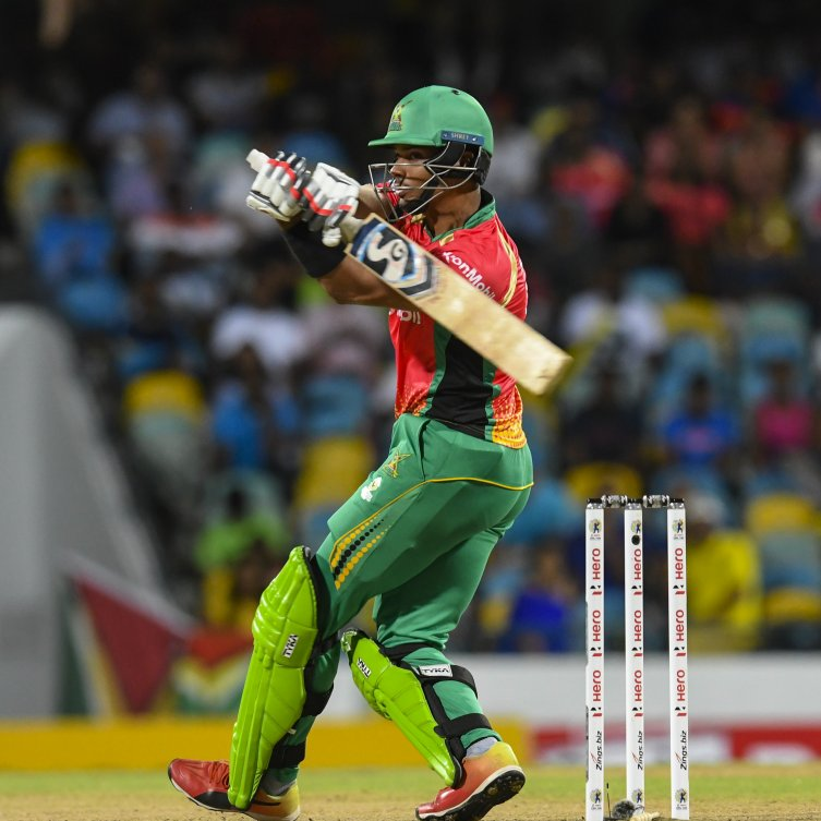 Brandon King hit a fine half-century in Guyana Amazon Warriors victory over the Barbados Tridents
