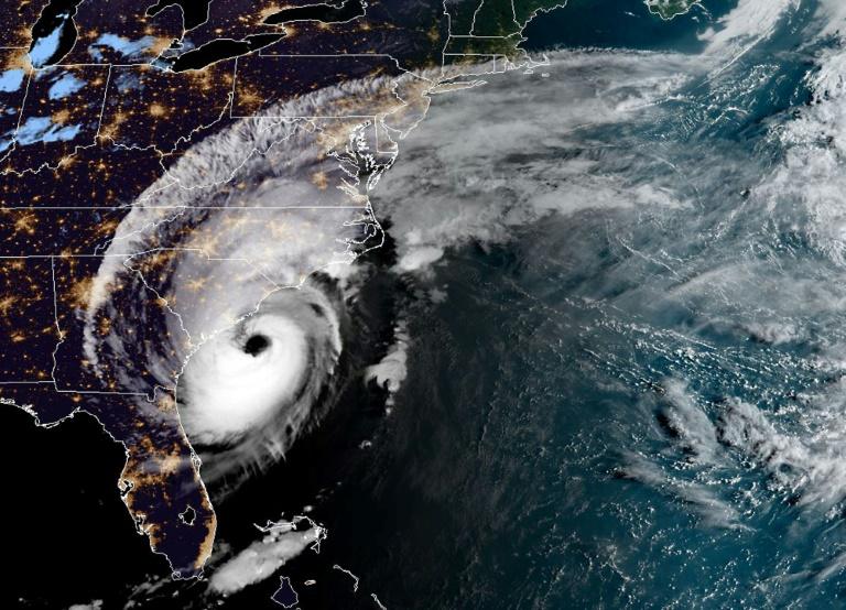 Image satellite de l'ouragan Dorian à 11H20 GMT le 5 septembre 2019