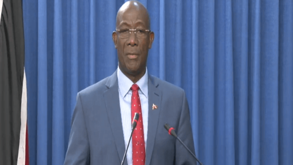 Prime Minister Dr Keith Rowley reveals aid to be sent to the Bahamas. Rowley was speaking at the Post Cabinet media briefing September 5, 2019.