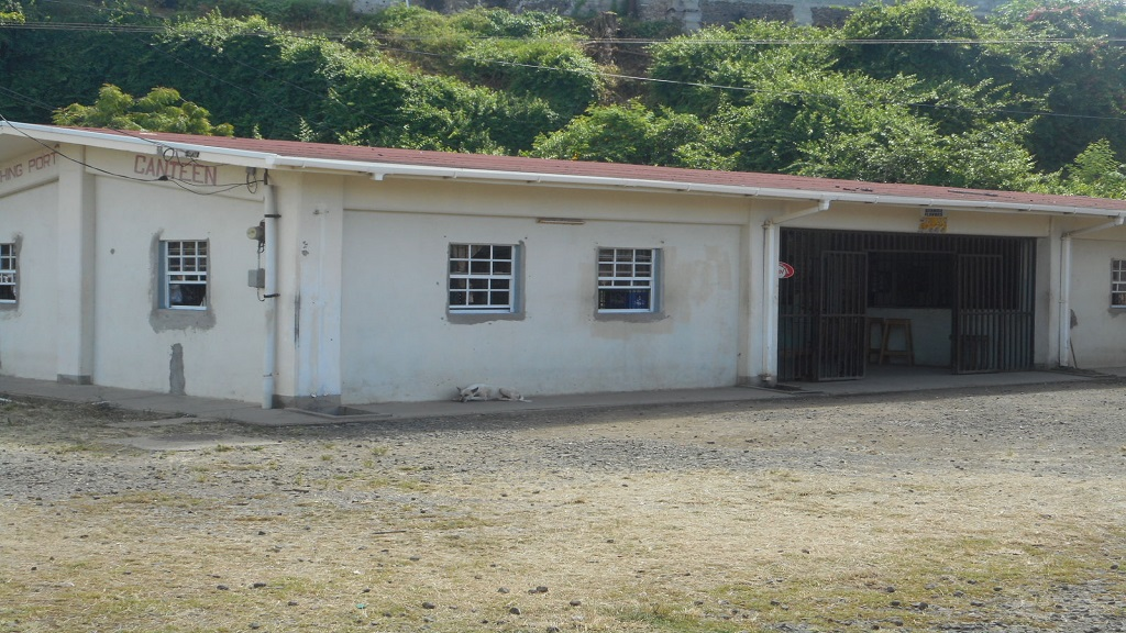 The building in which the canteen is located