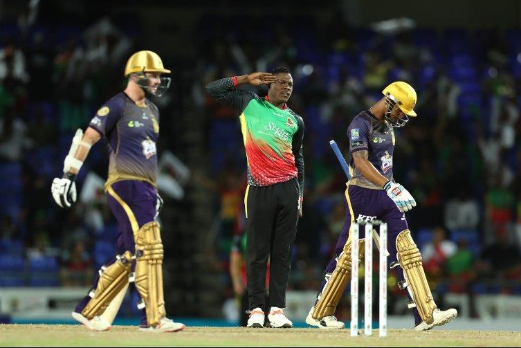 St Kitts and Nevis Patriots end the Trinbago Knight Riders unbeaten run in the 2019 CPL with a dramatic Super Over win