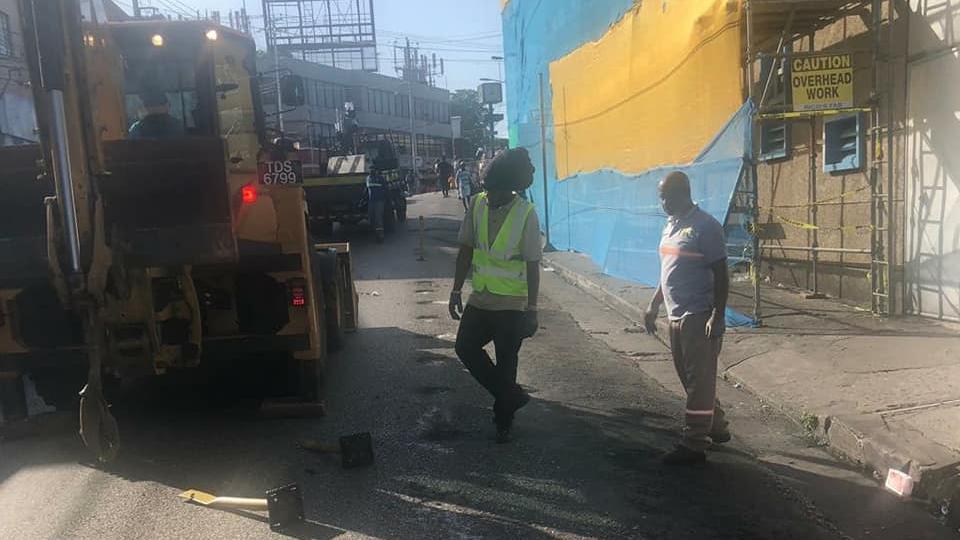 Upgrades taking place in San Fernando, via Facebook. Stock photo.