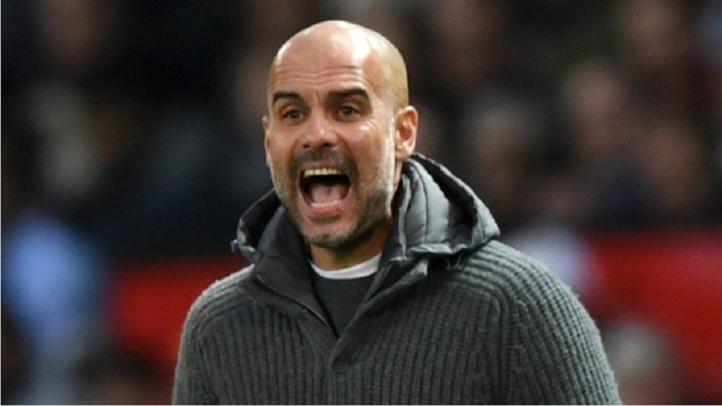 Manchester City manager Pep Guardiola.