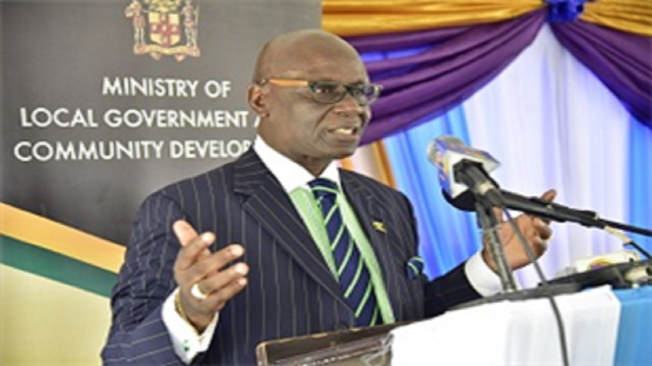 Minister of Local Government and Community Development, and minister responsible for the Office of Disaster Preparedness and Emergency Management (ODPEM) Desmond McKenzie.