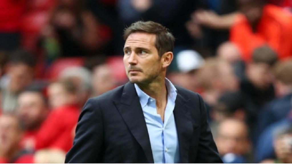 Chelsea boss Frank Lampard.