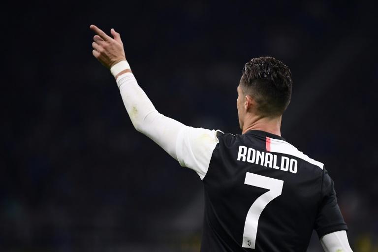 L'attaquant portugais de la Juventus Cristiano Ronaldo lors du match face à l'Inter le 6 octobre 2019 à Milan