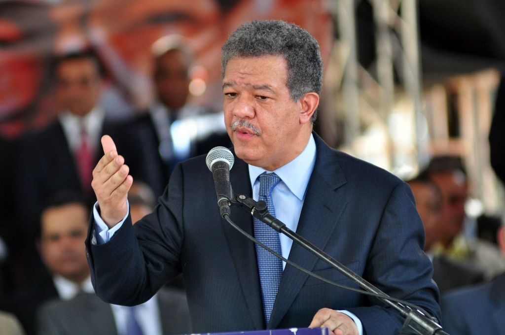 L'ancien président dominicain, Leonel Fernandez./Photo: Caribbean National Weekly.