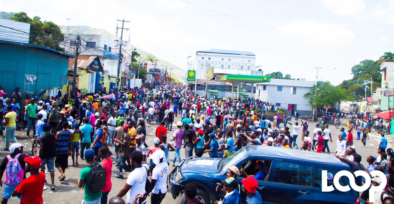 Photo prise lors de la manifestation du 17 octobre 2018/ Luckenson Jean/ Loop Haiti