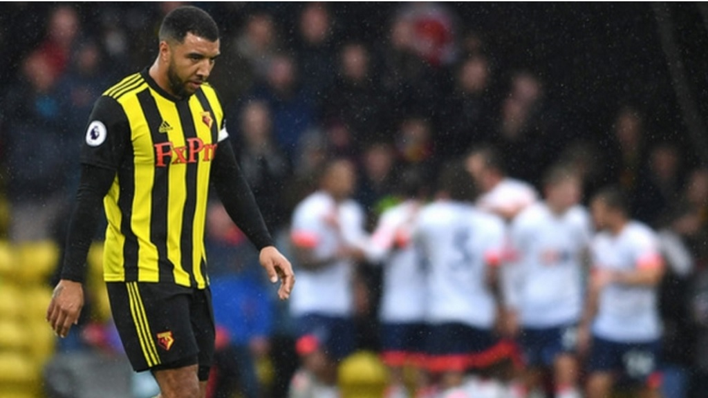 Watford captain Troy Deeney.