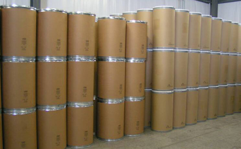 Barrels in a customs bond (FILE)