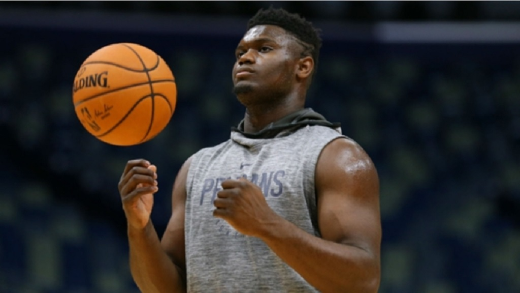 Pelicans superstar Zion Williamson.