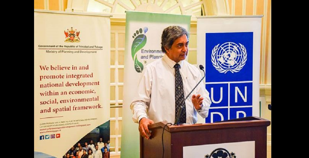 Kishan Kumarsingh, Head of Multilateral Environmental Agreements within the Environmental Policy Planning Division of the Ministry of Planning and Development, Kumarsingh will be the Ministry's lead for the ISA portfolio when the Ministry becomes the National Focal Point.