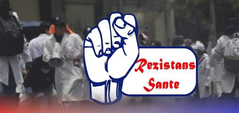 """Logo de la structure dénommée """"Rezistans Sante""""."""