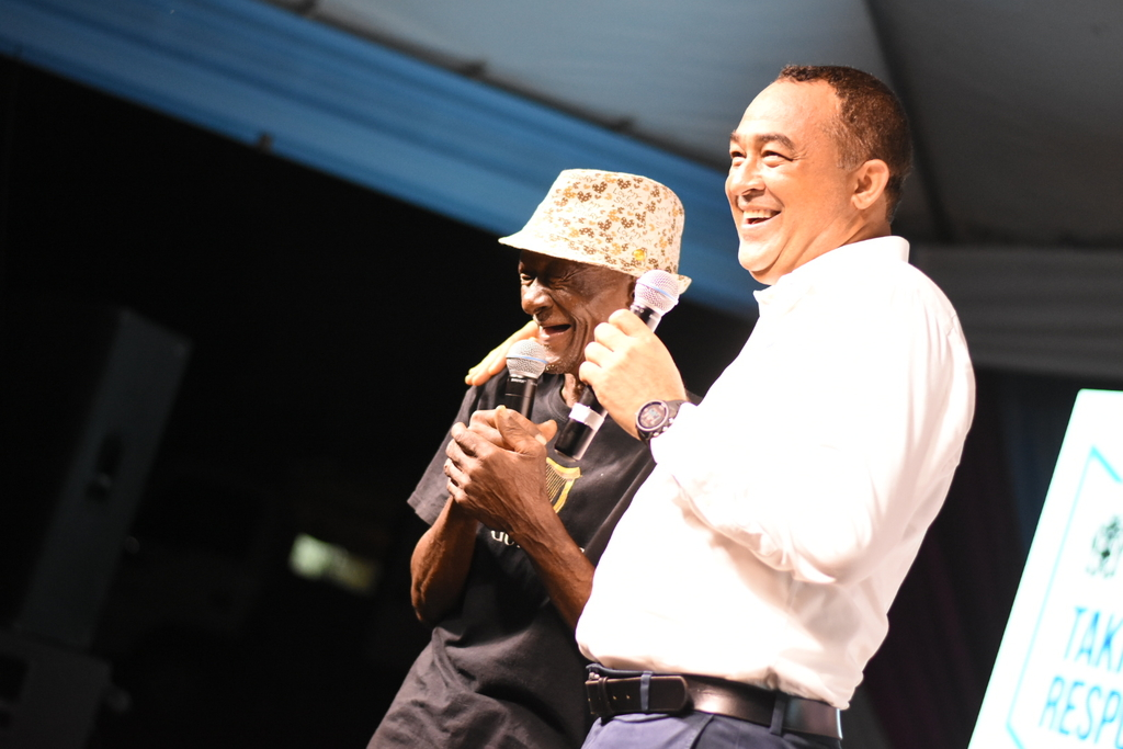 To observe World Mental Health Day, Minister of Health and Wellness Dr Christopher Tufton hosted Mental Forum under the theme Speak Up, Speak Now, at the Bellevue Hospital in Kingston on Thursday. (Photo: Marlon Reid)