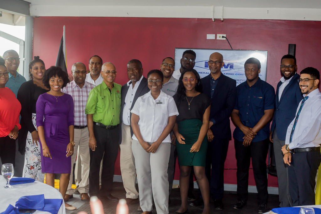 Mentors and mentees formally meet at the official launch of the M & M Jamaica Mentorship Luncheon recently held at the company's  31 Molynes Road Head Office.