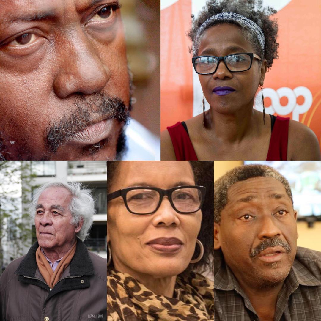 Un gratin d'écrivains s'allie au peuple haïtien et exige (eux aussi) le départ du chef de l'Etat, Jovenel Moise./Photo collage.