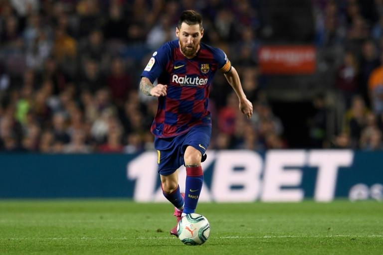 L'attaquant argentin de Barcelone, Lionel Messi, lors du match de Liga face à Séville, au Camp Nou, le 6 octobre 2019