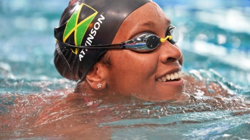 Standout Jamaican swimmer Alia Atkinson.