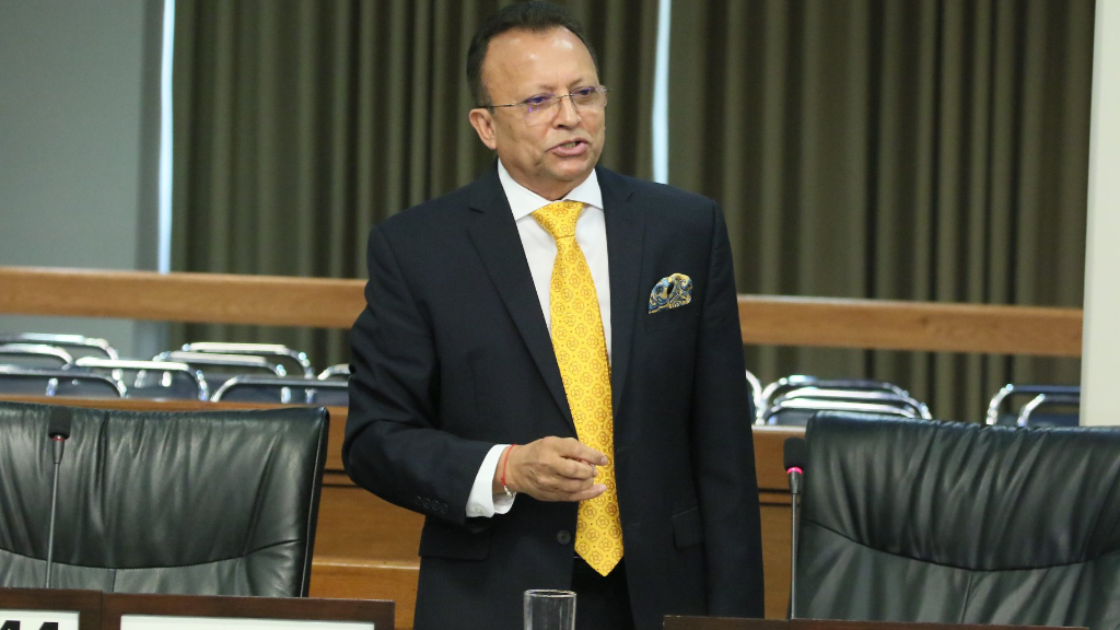 Chaguanas West MP Ganga Singh makes his contribution to the debate on The Appropriation (Financial Year - 2020) Bill, 2019.