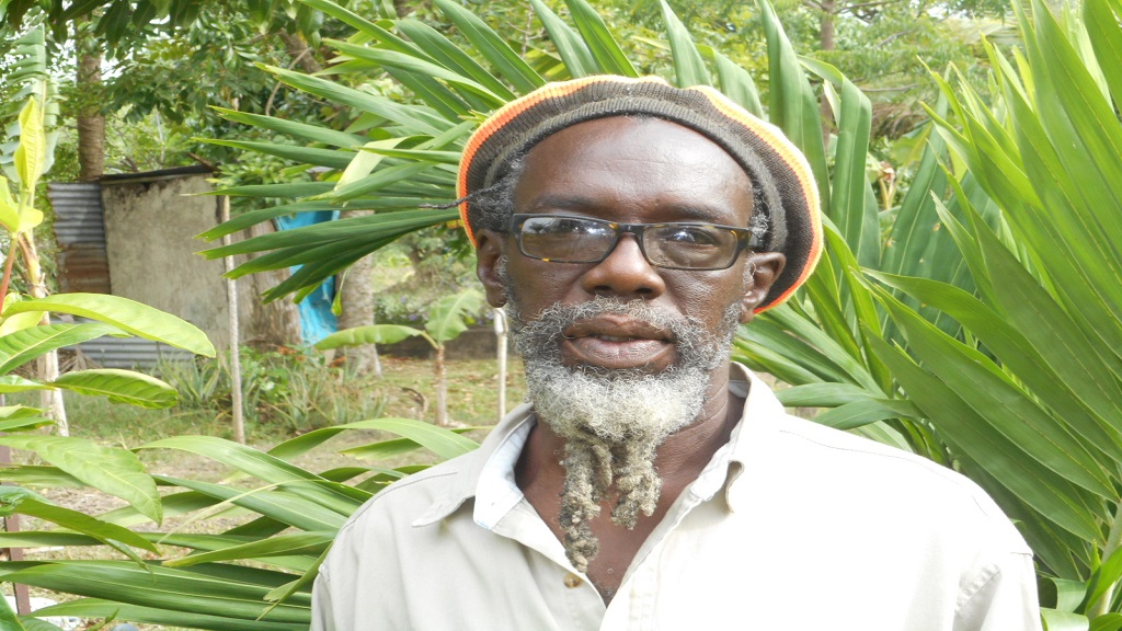 Burnet Sealy, chairman of the Caribbean Rastafarian Organization.